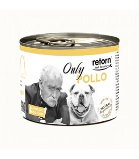 RETORN ONLY Comida húmeda para perro Lata 185gr