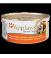 APPLAWS Alimento húmedo para gatos con caldo en trozos