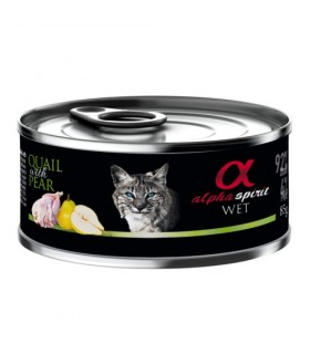 ALPHA SPIRIT Lata para gato Textura Paté   bonescompanyies.com