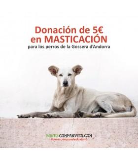 5€ de Masticación Solidaria   Donación