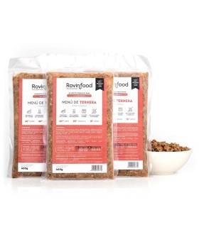 ROVINFOOD Menú de Ternera para Cachorros | bonescompanyies.com